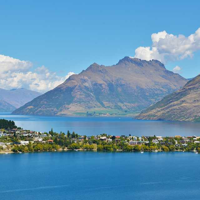 Voyage Nouvelle Zelande - Lac, Queenstown