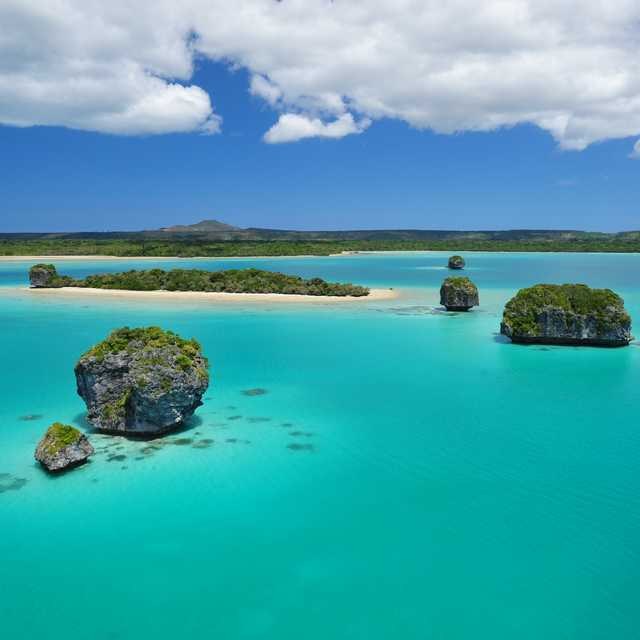 Combiné Nouvelle Zélande et Nouvelle Calédonie - Île des Pins