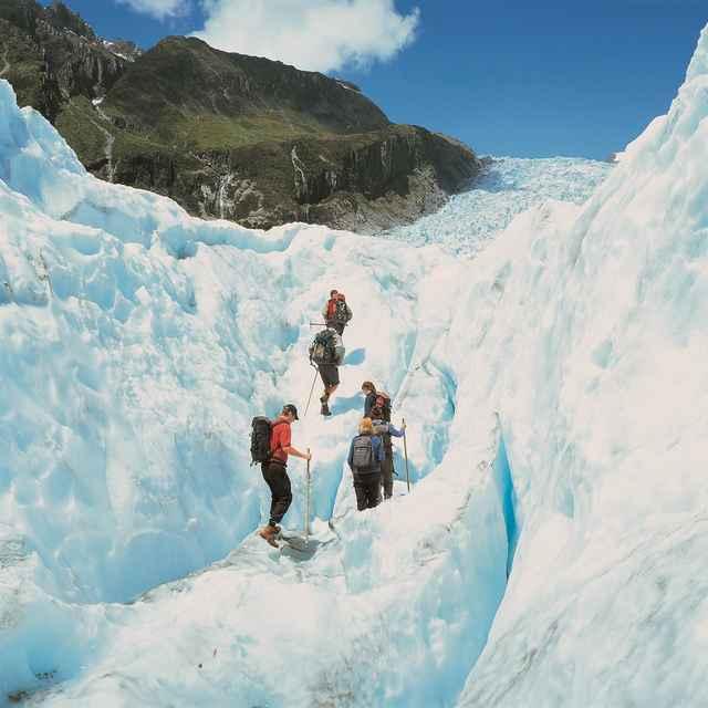Combiné Nouvelle Zélande et Nouvelle Calédonie - Région des glaciers