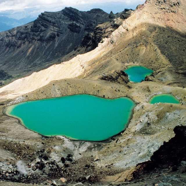 Voyage en Nouvelle Zelande - Tongariro National Park