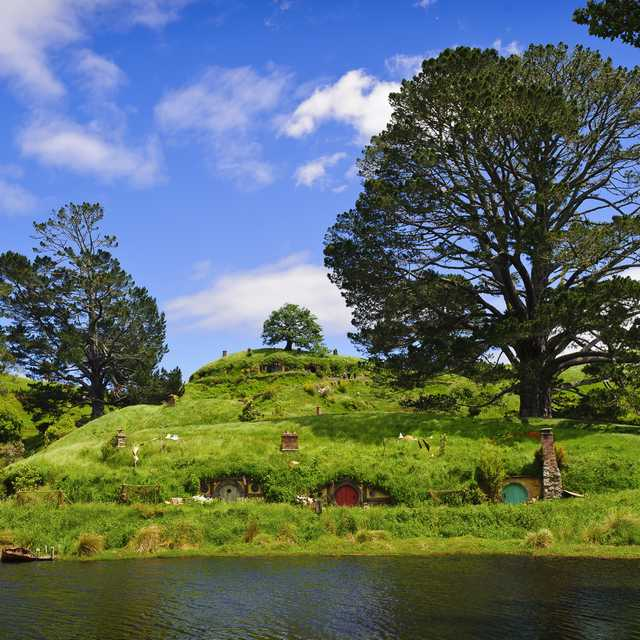 Voyage en Nouvelle Zélande - Hobbiton