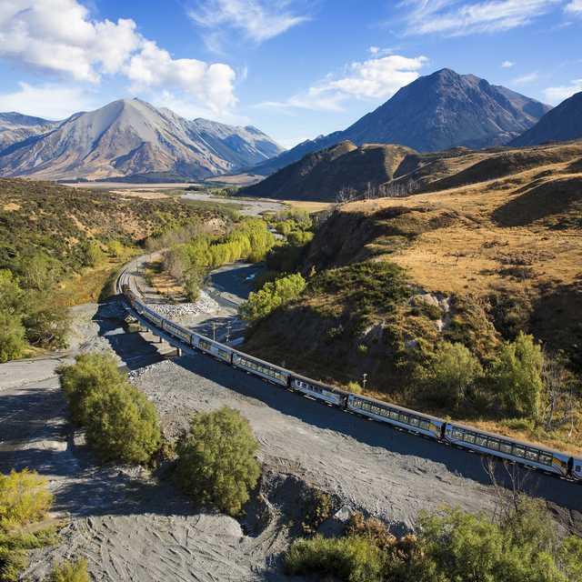 Voyage de noces Nouvelle Zélande - TranzAlpine