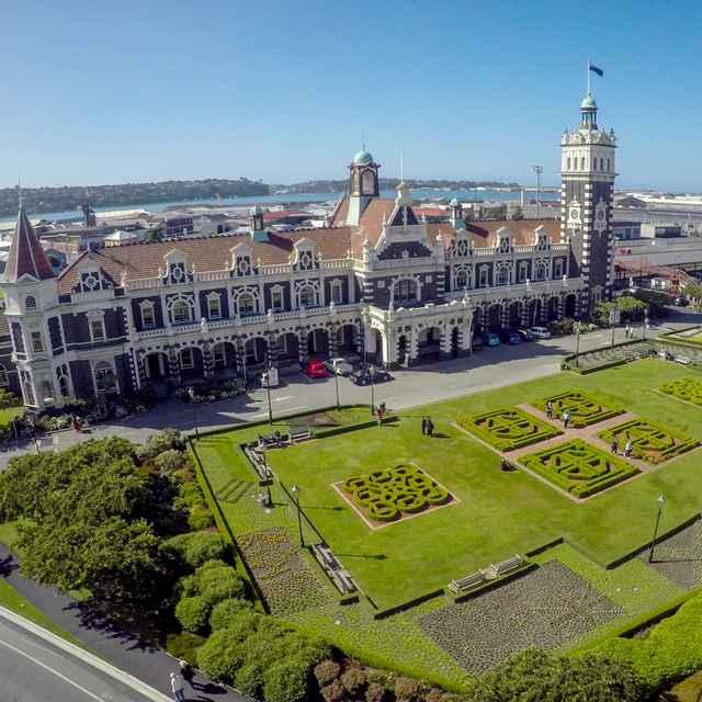 Circuit ile du Sud nouvelle zélande - Dunedin