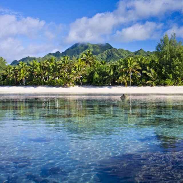 Combiné Iles Cook et Nouvelle Zelande - Iles cook