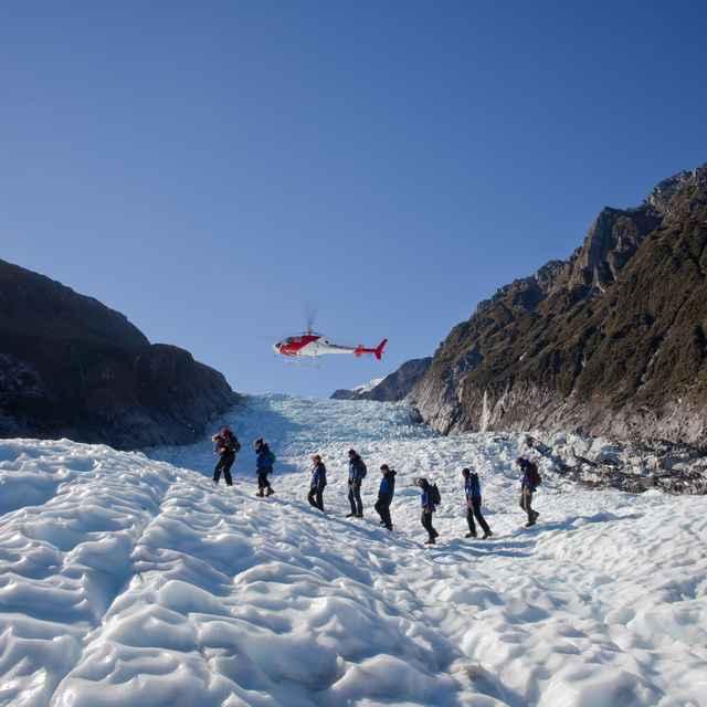 Voyage jeunes nouvelle zélande - Glacier