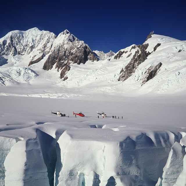 Circuit ile du Sud nouvelle zélande - région des glaciers