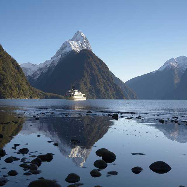 camping car en nouvelle zélande - Milford Sound