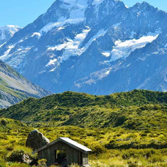 Nouvelle zélande en camping car - Montagne