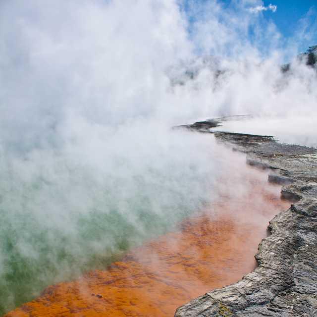 Valée géothermique de Wai O Tapu - Rotorua
