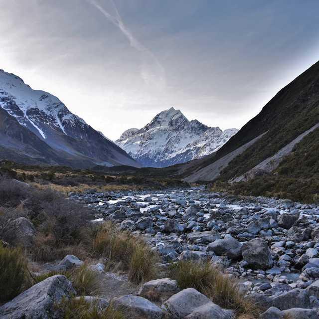 Voyage Ile du Sud de Nouvelle-Zélande - Mont Cook