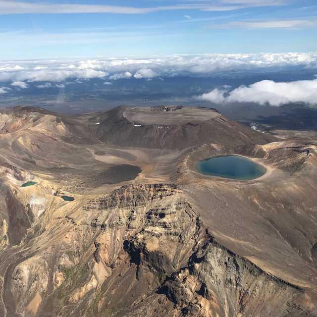 Voyage île du Nord de Nouvelle-Zélande - Tongariro National Park