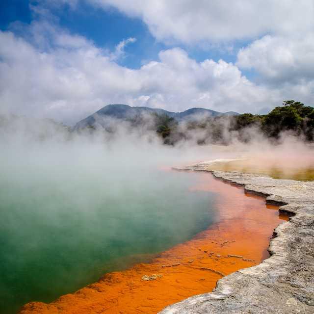 Voyage île du Nord de Nouvelle-Zélande - Rotorua