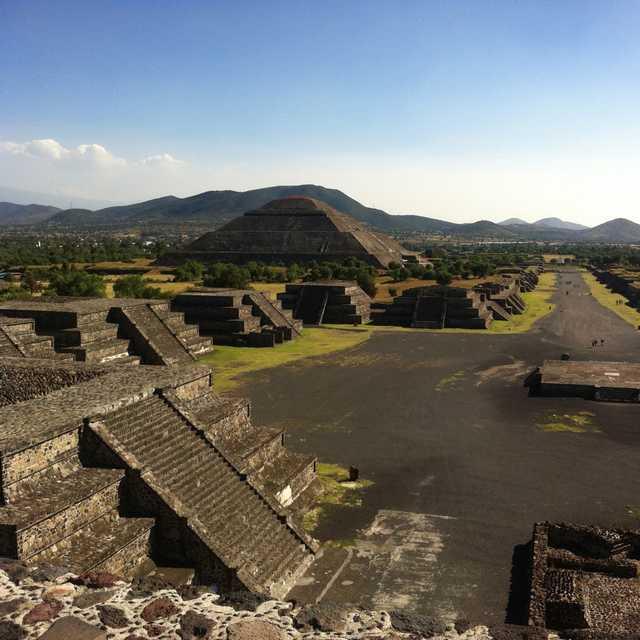Tour du Monde de Singapour à Mexico - Teotihuacan