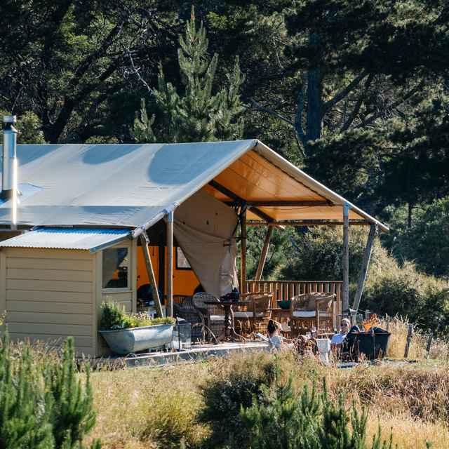 Glamping en Nouvelle-Zélande - Clifton Glamping