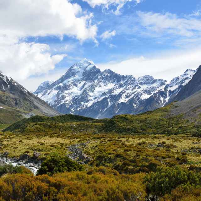 Voyage en Nouvelle-Zélande - Mount Cook